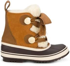 Chloé Sorel Shearling Winter Boots
