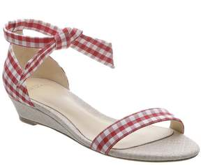 Alexandre Birman 'clarita gingham' wedge sandals