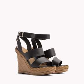 Tommy Hilfiger Strap Platform Wedge Sandal
