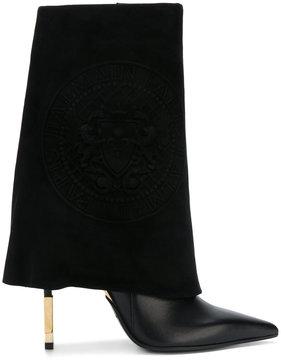 Balmain foldover boots