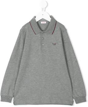 Il Gufo long sleeve polo shirt
