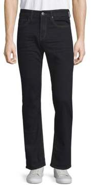 Buffalo David Bitton Six-X Slim-Fit Dark Jeans