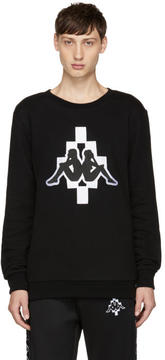 Marcelo Burlon County of Milan Black Kappa Edition Sweatshirt