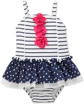 Little Me Striped Swimsuit, Baby Girls