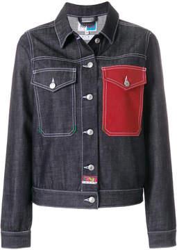 Kenzo contrast pocket denim jacket
