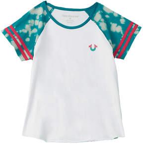 True Religion Girls' Football T-Shirt