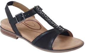 Aetrex Women's Leanna Quarter Strap Sandal