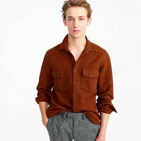 J.Crew Slim heavyweight chamois shirt