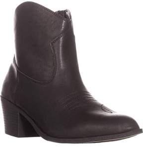 Style&Co. Sc35 Mandyy Cowboy Boots, Black.