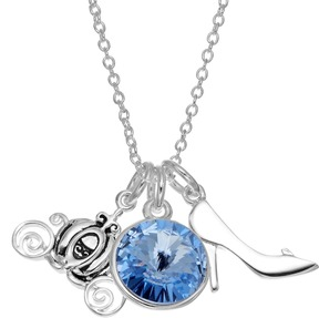 Disney Disney's Cinderella Crystal Charm Necklace