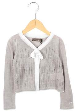 Jean Bourget Girls' V-Neck Cardigan w/ Tags