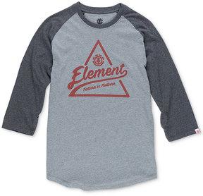 Element Men's Graphic-Print Raglan T-Shirt