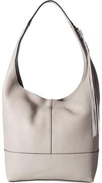 Rebecca Minkoff Unlined Slouchy Hobo with Whipstitch Hobo Handbags - PUTTY - STYLE