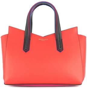Sara Battaglia block colour tote bag