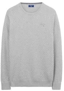 Gant Men's Grey Cotton Sweatshirt.