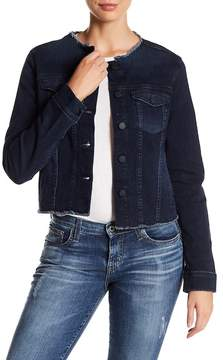 Big Star Caroline Frayed Denim Jacket