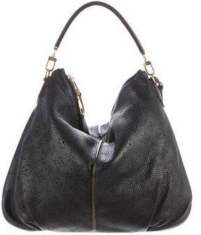 Louis Vuitton Mahina Selene MM - BLACK - STYLE