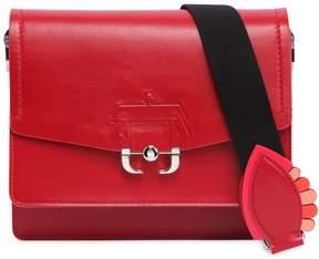 Paula Cademartori Twiggy Leather Shoulder Bag