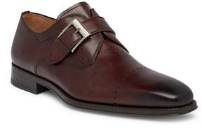 Magnanni Carey Leather Monk Loafer