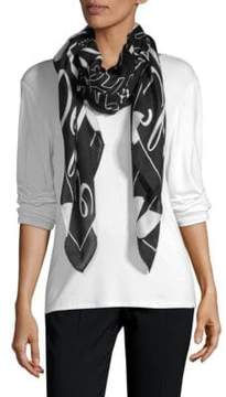 McQ Statement-Print Scarf
