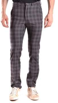 Gazzarrini Men's Grey Wool Pants.