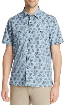 Michael Bastian Palm Tree Short Sleeve Shirt - 100% Exclusive