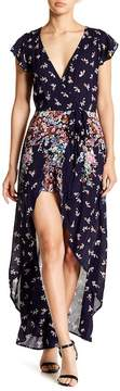 Angie Floral Maxi Walk Through Romper