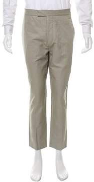 Lemaire Cropped Linen-Blend Pants w/ Tags