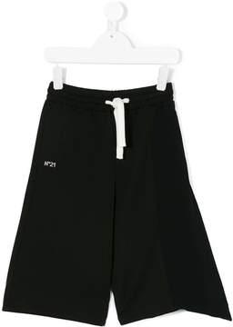No.21 Kids wide leg trousers