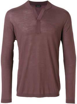 Roberto Collina henley sweater