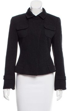 Akris Punto Structured Wool Jacket