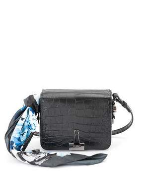 Off-White Cocco Stamped Leather Crossbody Bag