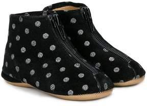 Pépé polka dot boots