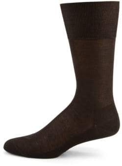 Falke Airport Wool-Cotton Blend Socks