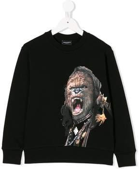 Marcelo Burlon County of Milan Kids Cheuj sweatshirt