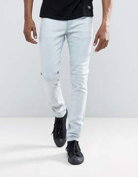 Cheap Monday Tight Skinny Jeans Pale Blue