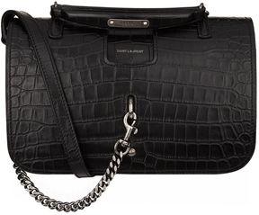 Saint Laurent Medium Charlotte Messenger Bag - BLACK - STYLE