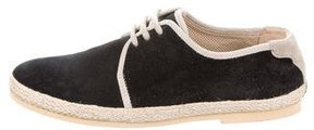 Dolce & Gabbana Girls' Suede Lace-Up Low-Tops