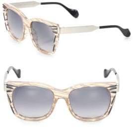 Fendi Kinky 54MM Square Sunglasses