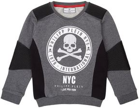 Philipp Plein New York Skull Sweatshirt