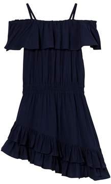 Little Remix Jr Rion Ruffle Dress Navy