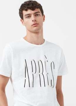 Mango Outlet Message cotton t-shirt