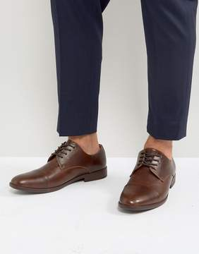 Call it SPRING Huttner Toe Cap Shoes In Brown