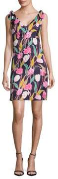 Donna Morgan Floral A-Line Dress