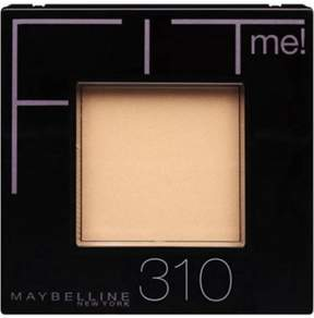 Maybelline New York Fit Me! Pressed Powder, 310, Sun Beige.