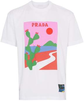 Prada cactus print T-shirt