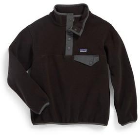 Patagonia Boy's Synchilla Snap-T Fleece Pullover