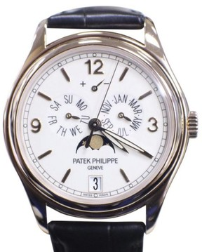 Patek Philippe Annual Calendar 5146R 18K Rose Gold / Leather 39mm Mens Watch