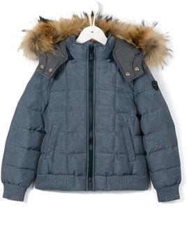 Fendi Kids hooded down coat