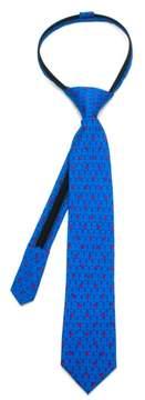 Cufflinks Inc. Boy's Cufflinks, Inc. Star Wars - Stormtrooper Zip Silk Tie
